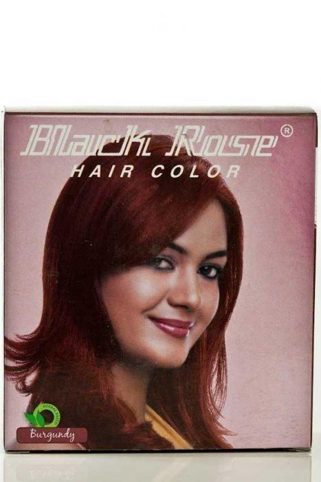 Black Rose Henna Powder 10x50grm Burgundy Sheris Beauty